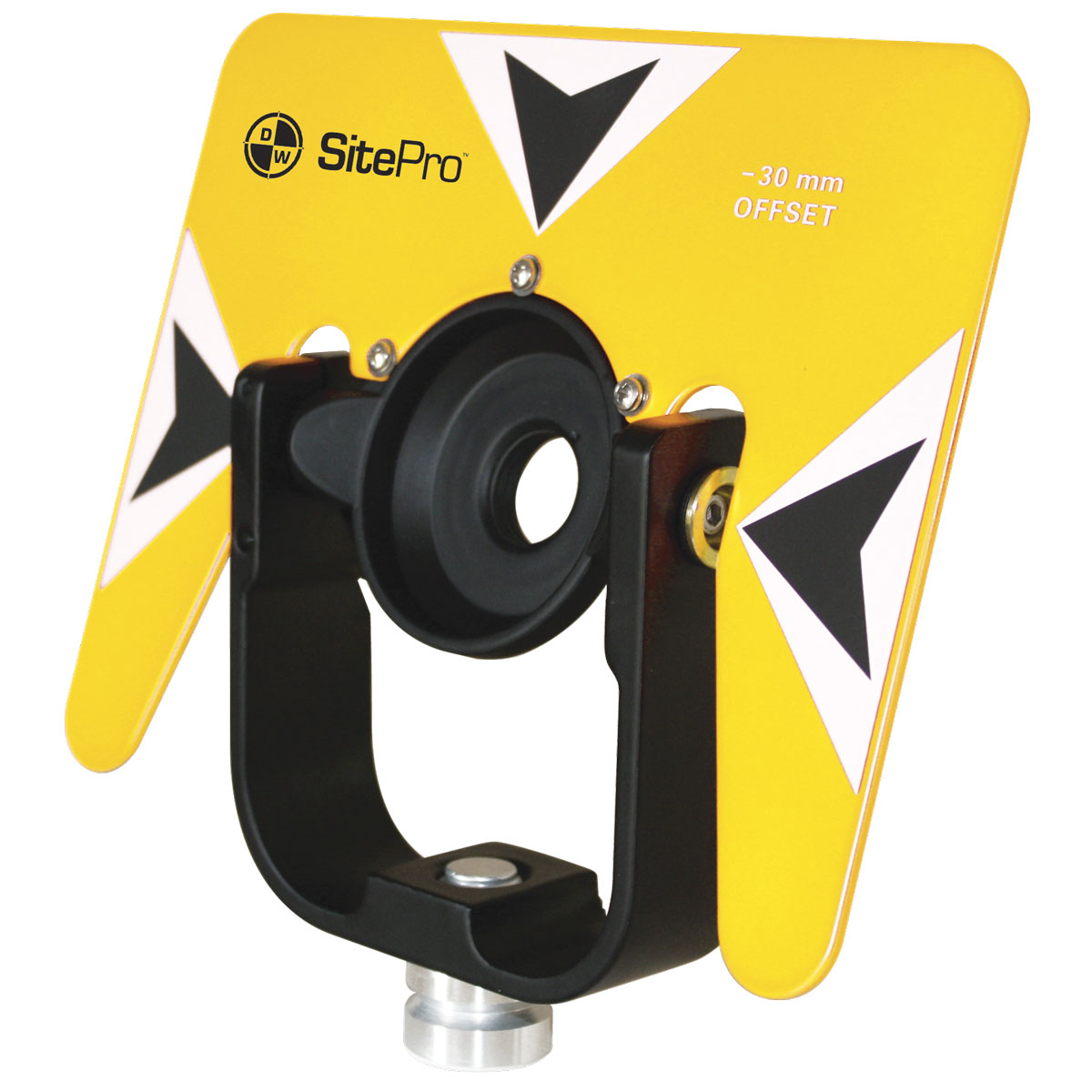 SitePro 5 by 7 Metal Target and Yoke Only 03-1012 Yellow