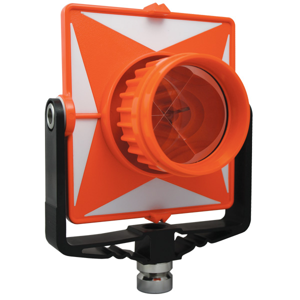 SitePro Single Tilt Prism System, Polycarbonate Orange