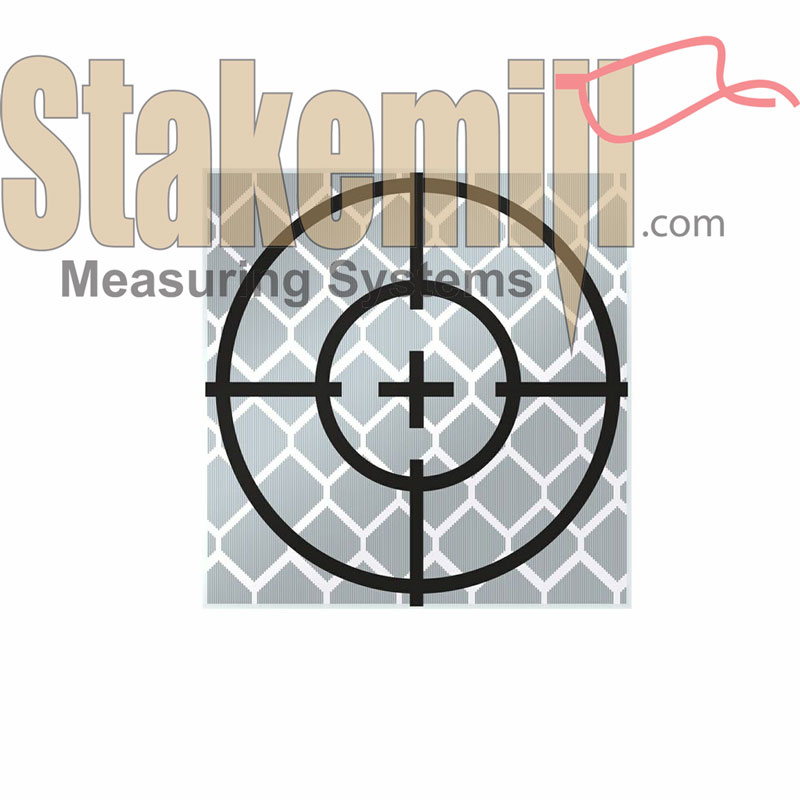 20MM Reflective Retro Target - Stick On (set 10)