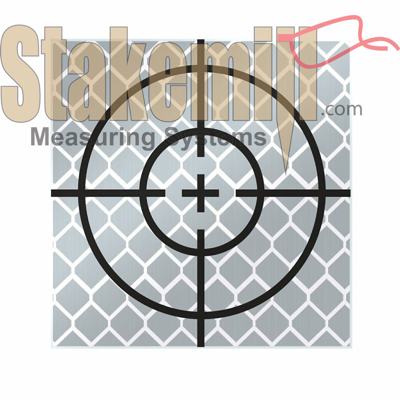 40MM Reflective Retro Target - Stick On (Set 10)