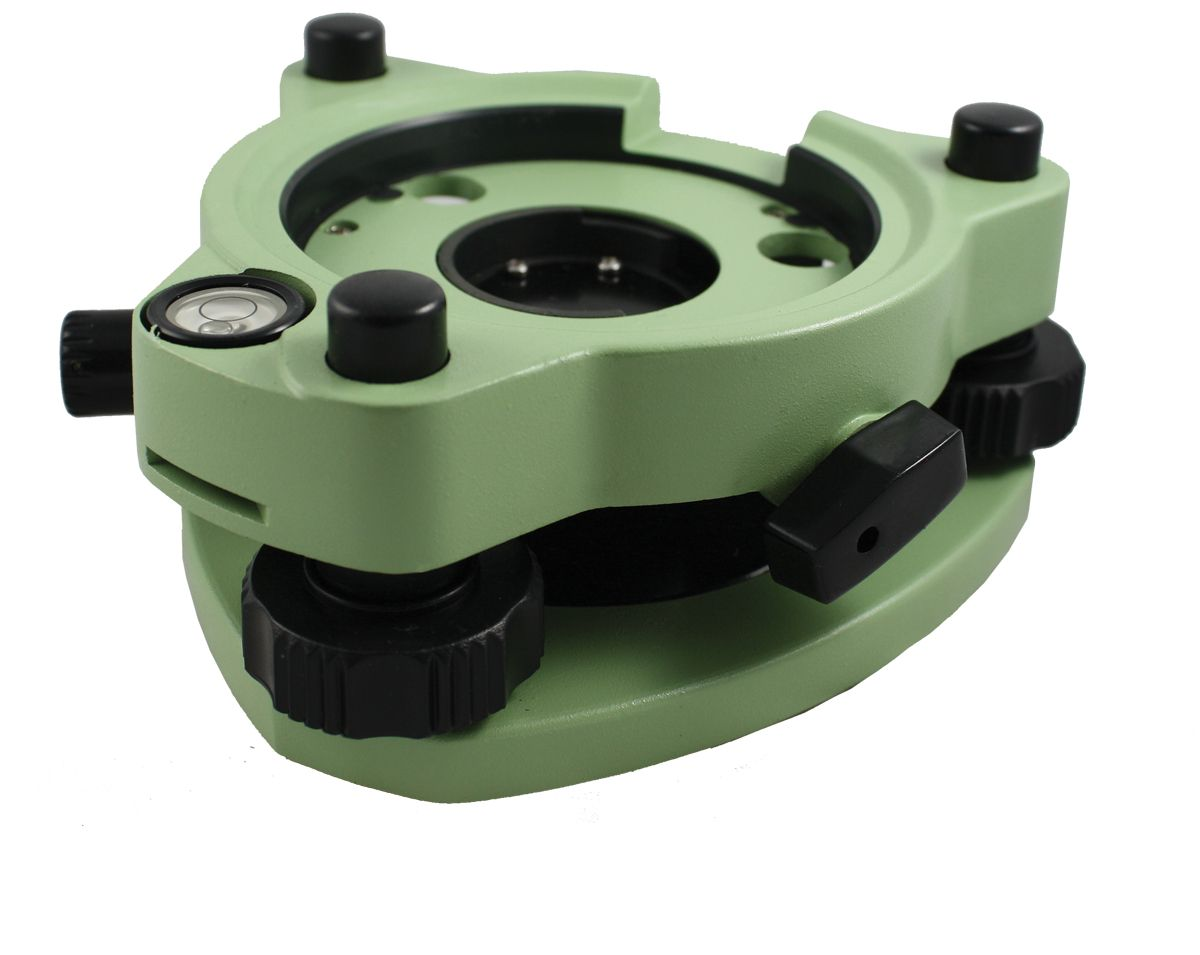 SitePro Precision Tribrach, with Optical Plummet Green