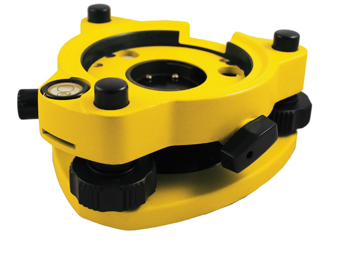 SitePro Precision Tribrach, with Optical Plummet Yellow