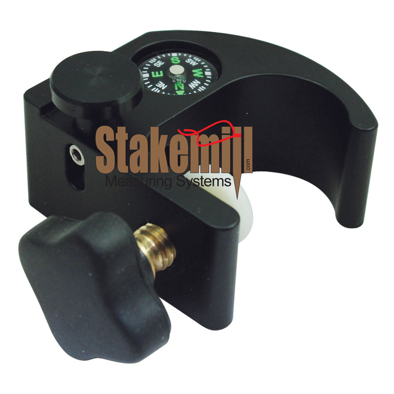 SitePro Open Clamp Pole Bracket with Compass