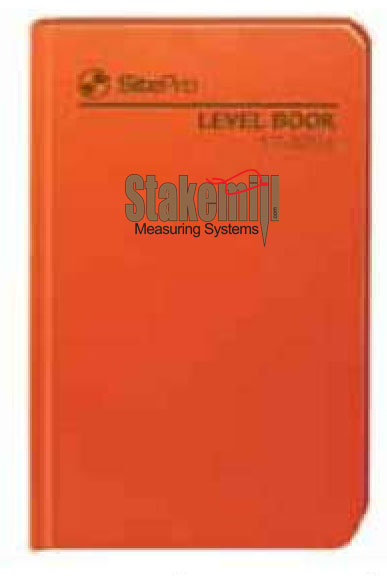 SitePro Field Book, Level 17-325-L