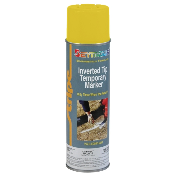 Seymour 6 Series Temporary Marking Paint - Yellow 20oz Can