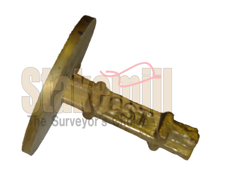 2 Inch Brass Survey Marker Flat Top 20-701
