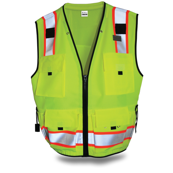 Site Pro 550 SURVEYORS SAFETY VEST Large