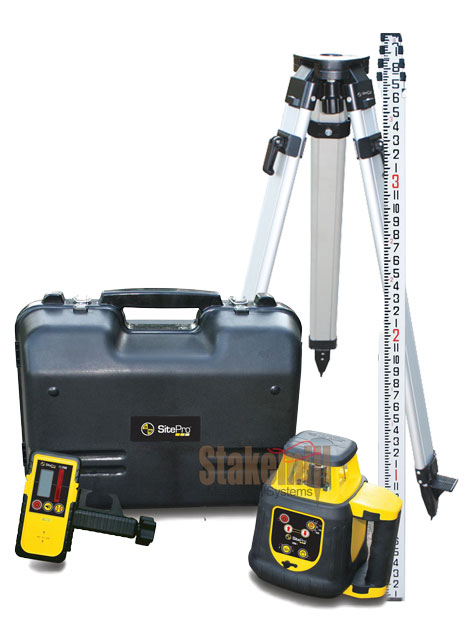 SitePro SLR200H Horizontal Rotary Laser Kit Inches