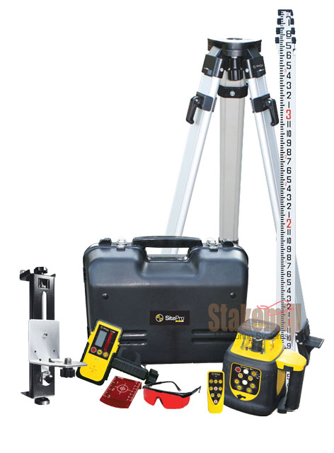 SitePro SLR200HV Horizontal & Vertical Rotary Laser Kit Inches