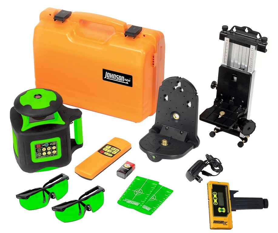 40-6547 Self-Leveling Horiztl & Vertical Rotary Laser GreenBrite