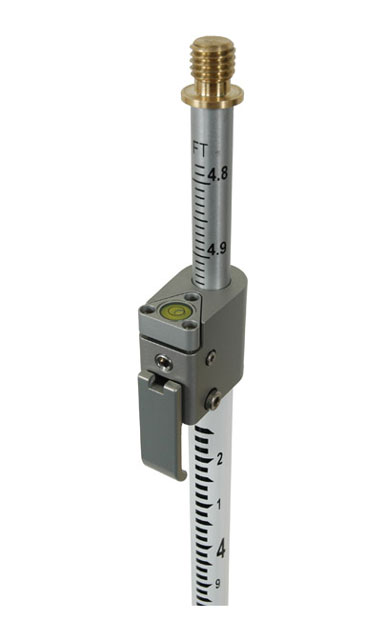 SECO Geodimeter Style Telescoping QLV Prism Pole GT Grads