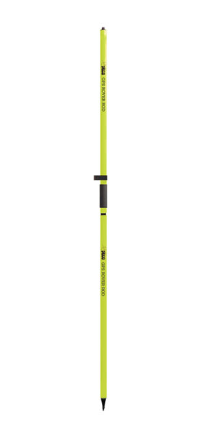 "2 m Two-Piece GPS Rover Rod with Outer ""GT"" Grad - Flo Yellow"
