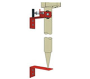 GeoMax Pole Peg Adjusting Jig