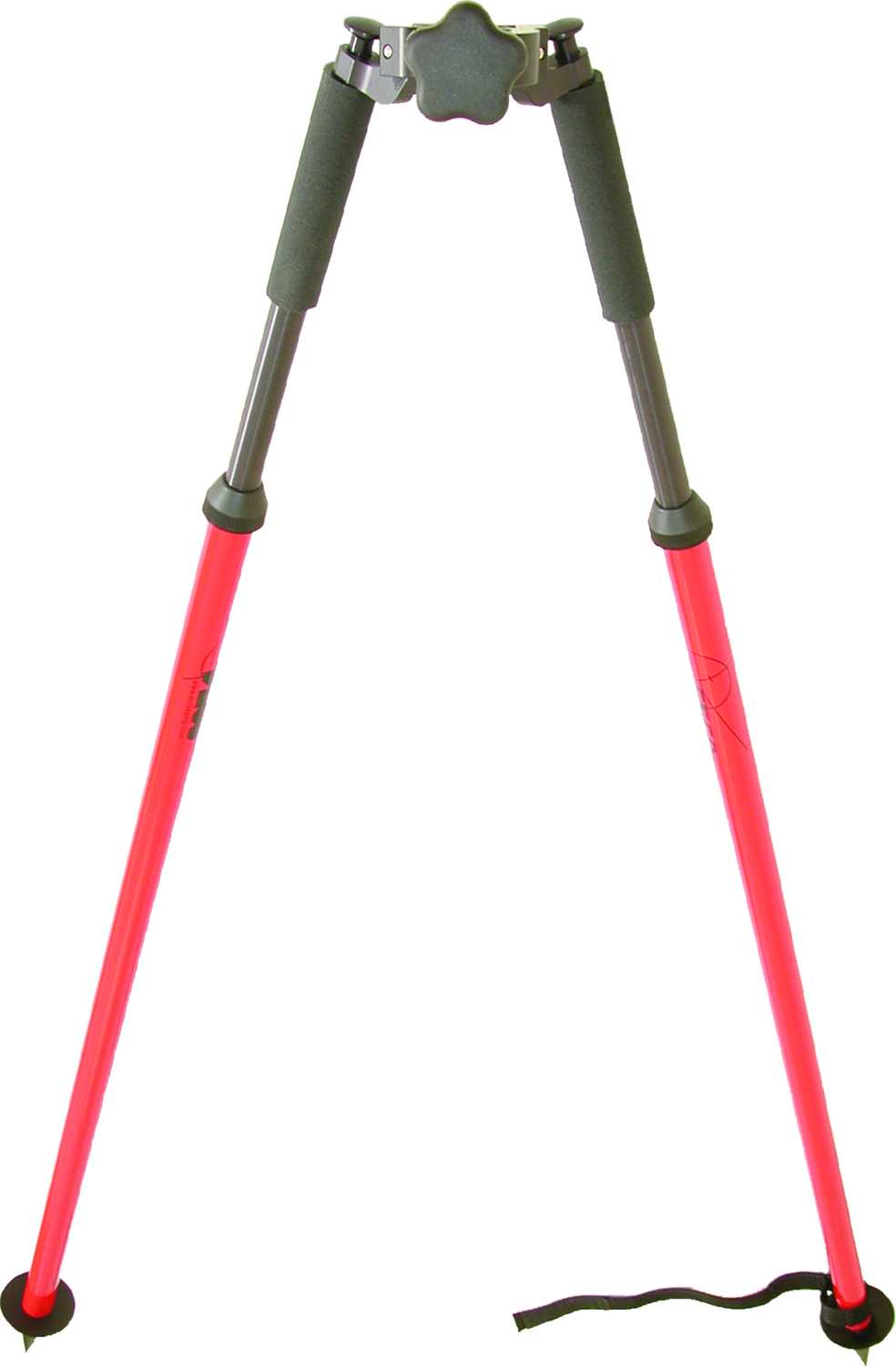SECO Thumb-Release Prism Pole Bipod 5217-04-RED