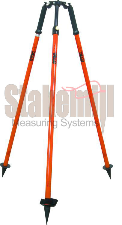 SECO Thumb-Release Prism Pole Tripod 5218-02-FOR