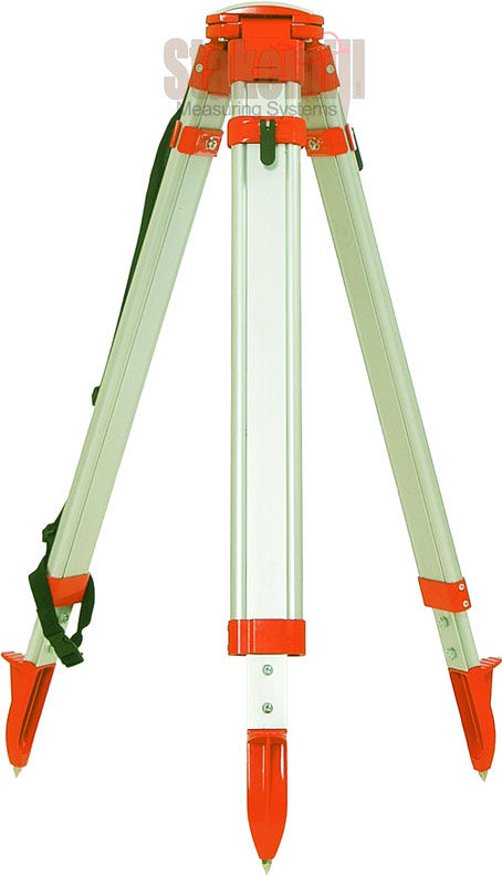Heavy-Duty Aluminum Tripod Square Leg, Dome Head
