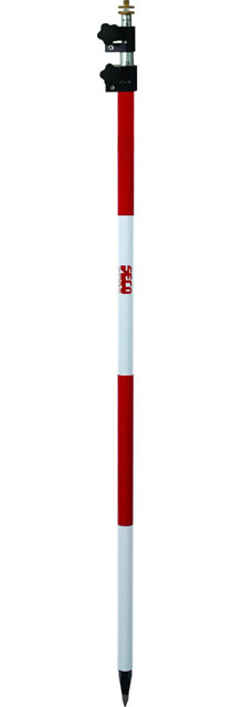SECO 11.81 ft TLV Prism Pole - Red and White