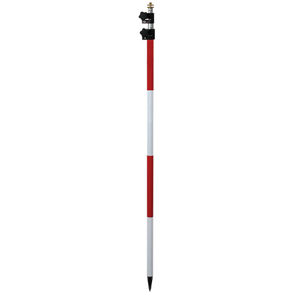 SECO 11.81 Foot Dual-Grad TLV Adj Tip Construction Prism Pole