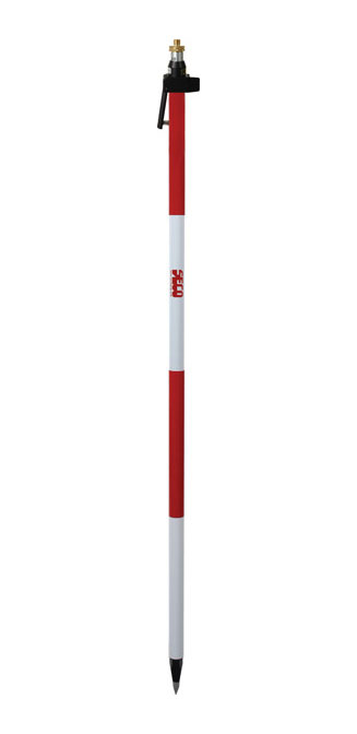 GeoMax 8.5 ft Adj Tip Dual Grad Quick Release Prism Pole