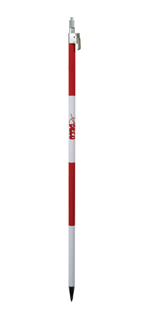 SECO Prism Poles with QLV Lock Fixed Tip 8 Ft