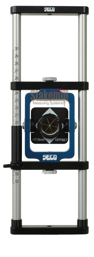 SECO Sliding Mini Prism Assembly -17.5mm Offset Feet
