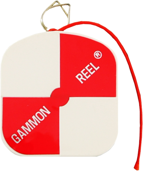 Gammon Reel 12ft White & Orange 15-729
