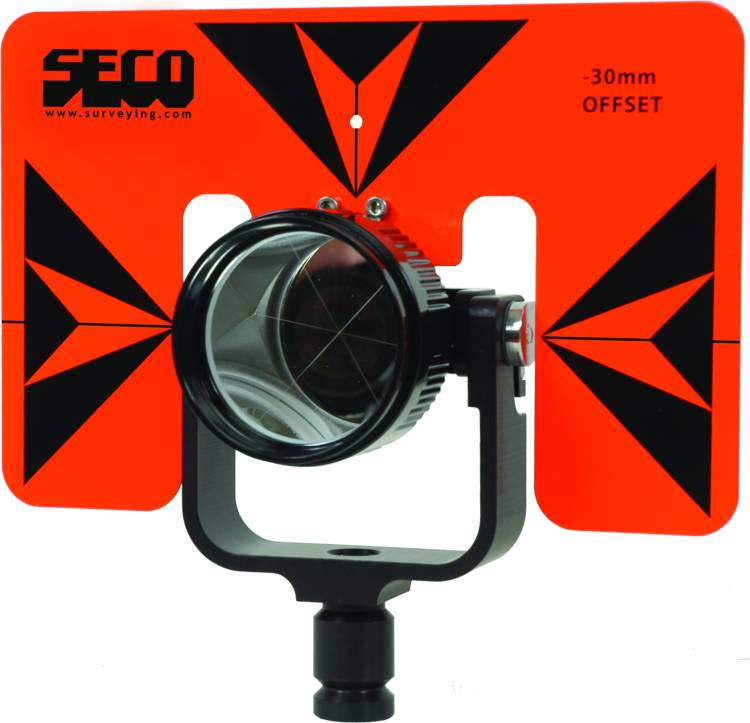 SECO Rear Locking 62mm Premier Prism 6 x 9 inch Target FOB