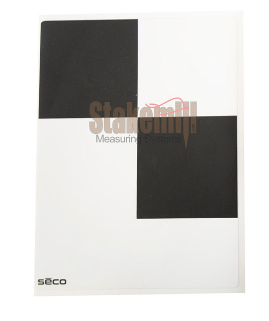 SECO 6 Inch Black & White Adhesive Target 10 pack