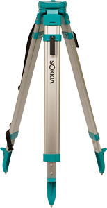 SOKKIA Contractor's Rnd Aluminum Flat Top Tripod Quick Clamp