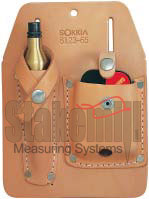 SOKKIA Leather Scabbard for Plumb Bob and Gammon Reel