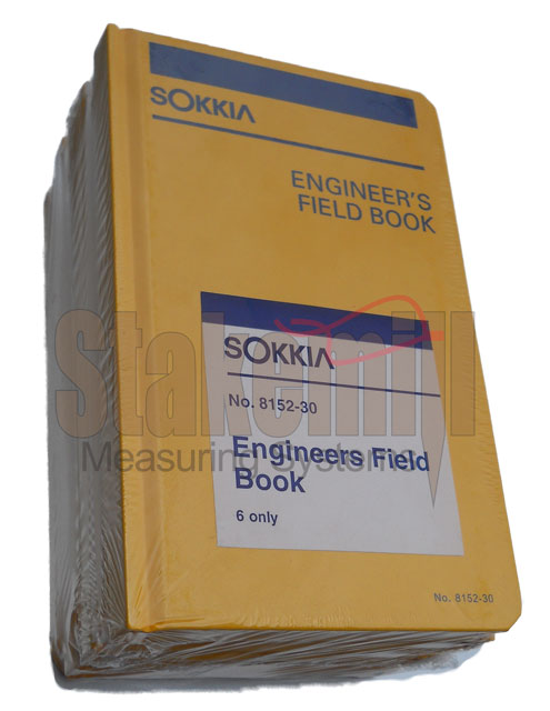Sokkia Mining Field Book 815220 6 PACK