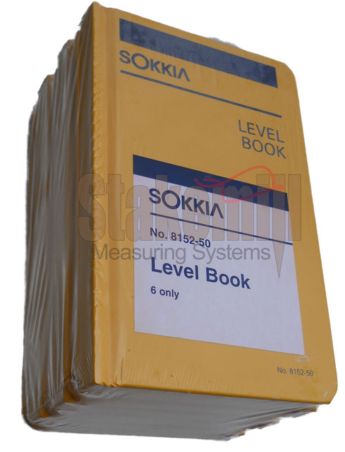 Sokkia Field Book 815260 6 PACK