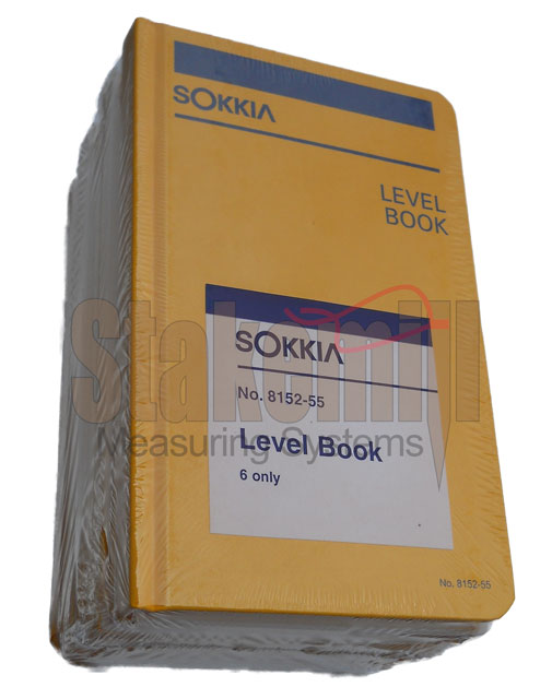 Sokkia Level Field Book 815255 6 PACK