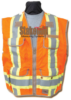 SECO 8260 US & Canadian Class 2 Standard Safety Vest Flo Orange