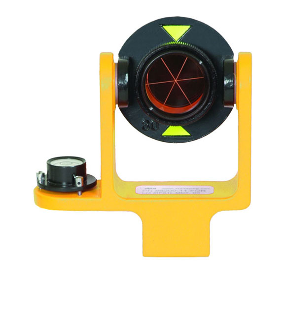 GeoMax 25 mm Yellow Mini Prism System Side Vial