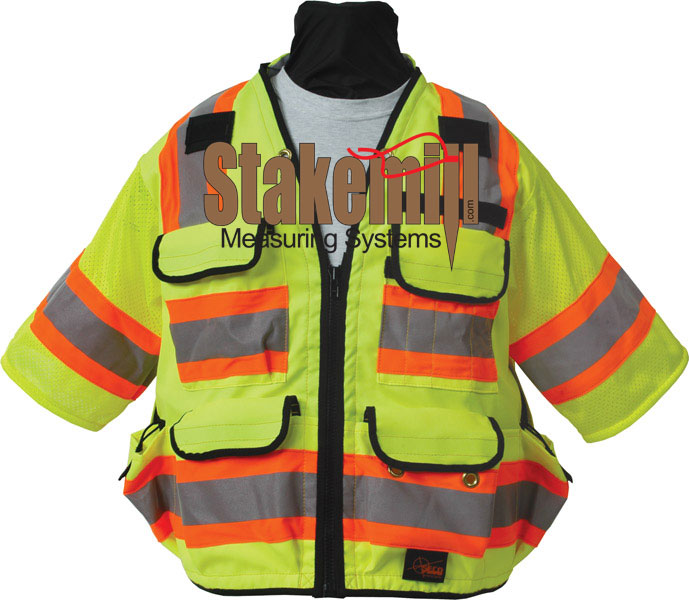 SECO 8365 ANSI/ISEA Class 3 DOT Safety Vest Fluorescent Yellow