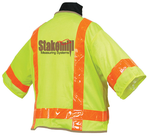 SECO 8374-Series Mesh Safety Vest Class 3 Fluorescent Yellow