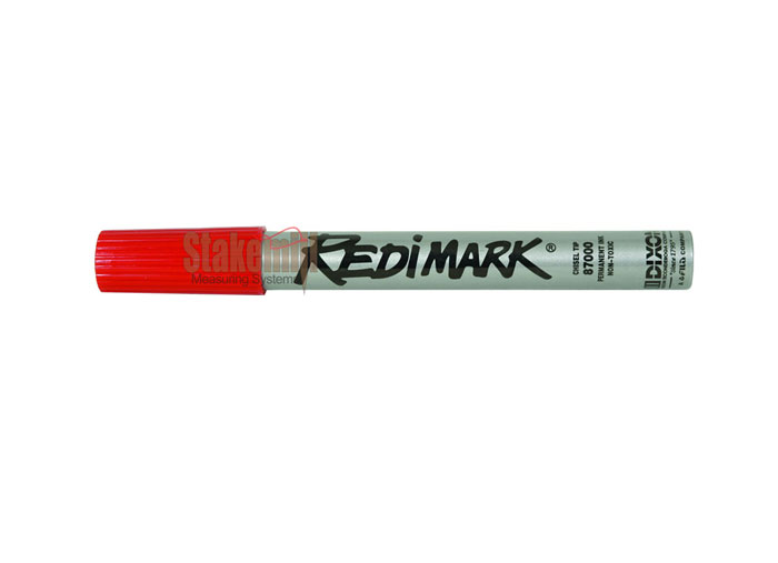 Dixon Redimark Markers - Red (Box of 12) 838397