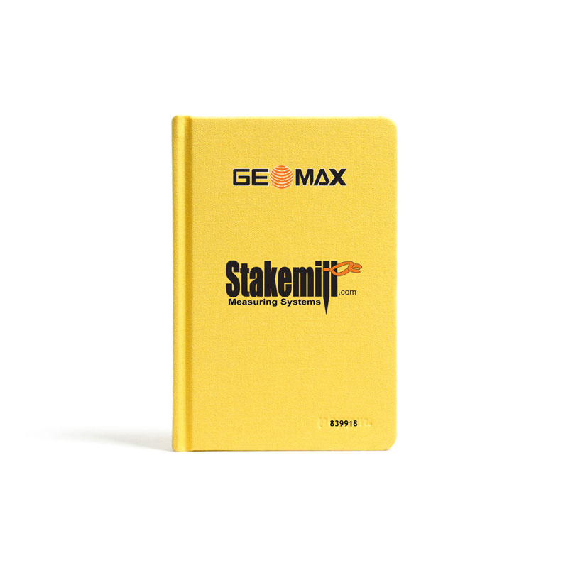 GeoMax Level Field Book Standard Size