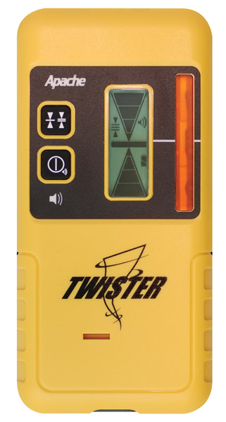 Apache Twister - Yellow Laser Receiver