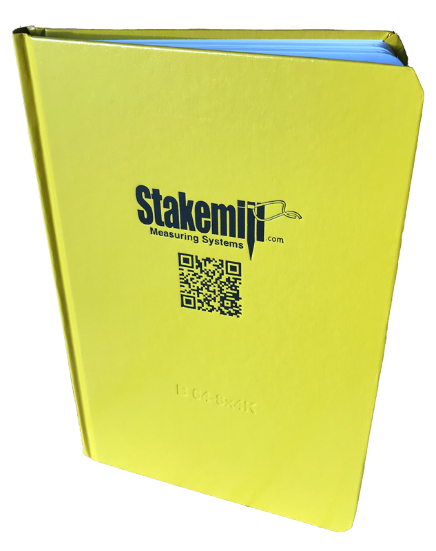 Stakemill Field Book E64-8X4K King Size YELLOW