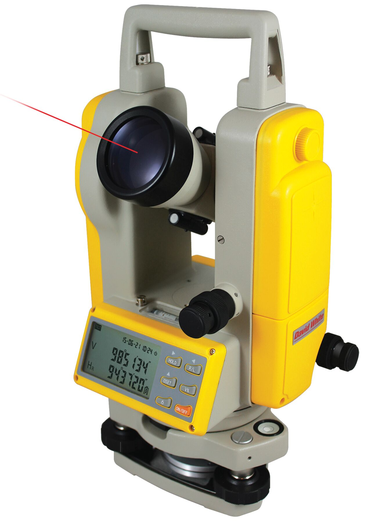 DT8-05LS 5-Sec Digital Theodolite Laser Sight Optical Plummet
