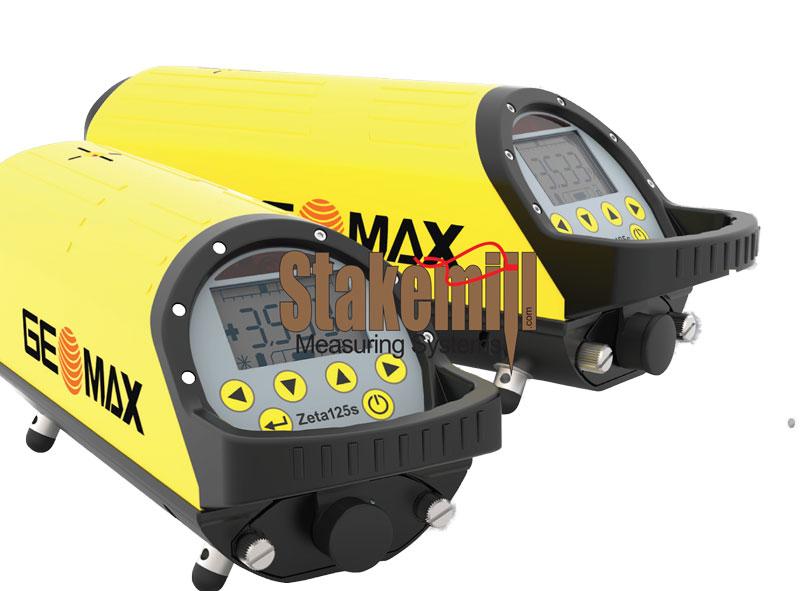 GEOMAX Zeta 125 Series Pipe Laser Trivet Package