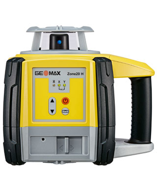 GEOMAX Zone20 H Leveling Laser with Basic Receiver