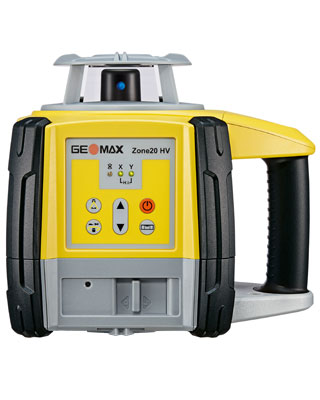 GEOMAX Zone20 HV Leveling Laser with Basic Receiver