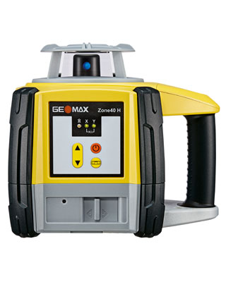 GEOMAX Zone40 H Series Leveling Laser with Basic Receiver