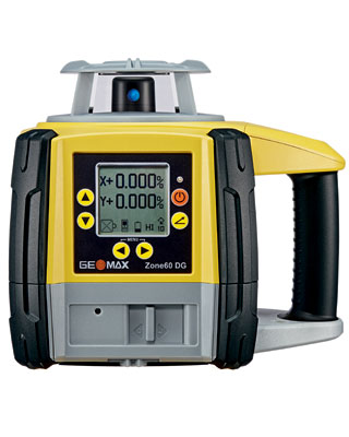 GEOMAX Zone60 DG Fully-Automatic Dual Grade Laser Basic Reciever