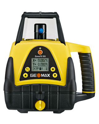 GeoMax Zone70 DG Dual Grade Laser with Pro Receiver