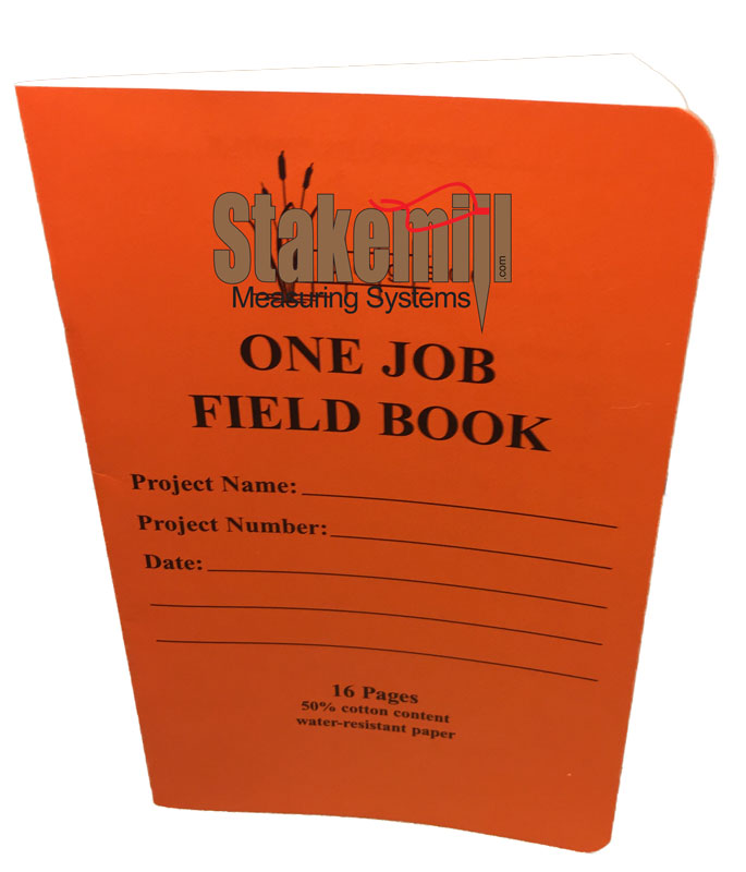 Elite Series One Job Field Book - ES-320-1JB