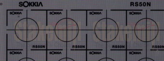 Sokkia Reflective Sheet Targets RS50N 50x50mm 16/Sheet